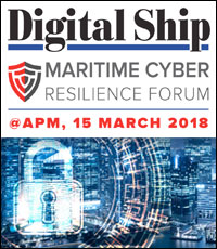 Digital Ship Maritime Cyber Resilience Forum - Singapore APM