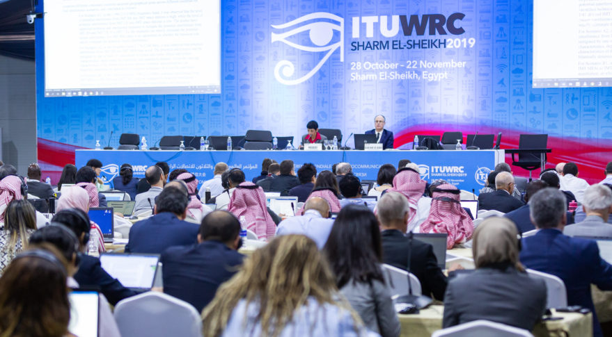 GLOBAL TRADE ASSOCIATION FOR SATELLITE INDUSTRY PRAISES THE OUTCOME OF WORLD RADIOCOMMUNICATION CONFERENCE