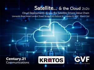 Satellite & the Cloud: Deployments Across the Satellite Driven Value Chain